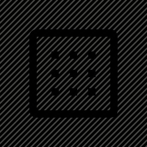 media, table, type icon