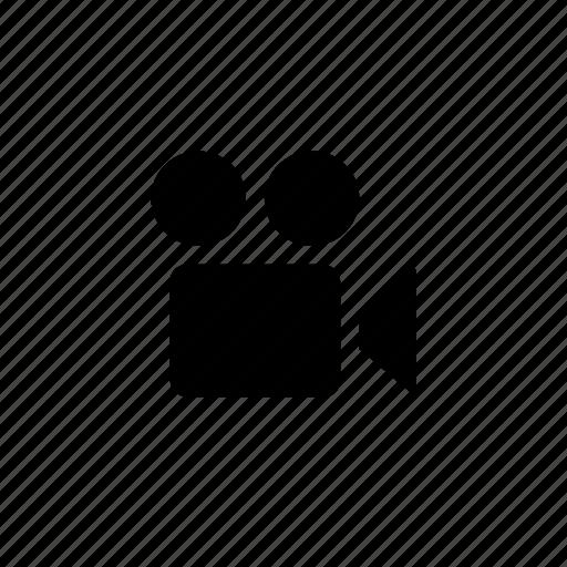 camera, media, movie icon