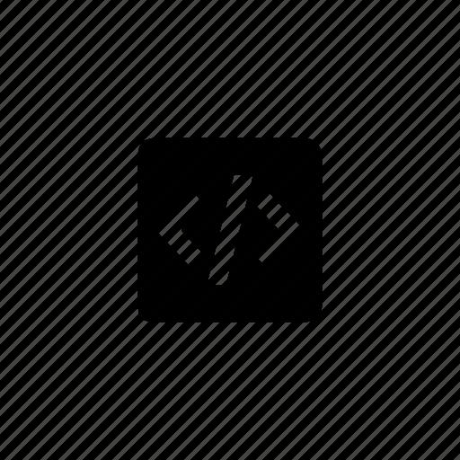 html, media, square icon