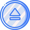 audio, eject, media, media player, music, video player icon