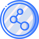 audio, media, media player, music, share, video player icon