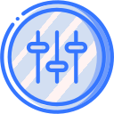 audio, media, media player, music, settings, video player icon