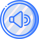 audio, media, media player, music, video player, volume icon