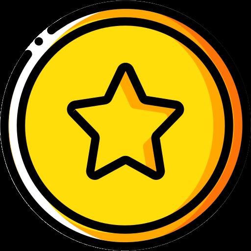 audio, media, media player, music, star, video player icon