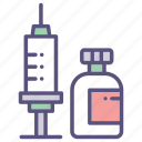 healthcare, hospital, medical, srynge icon