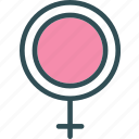 female, health, medical, sign icon