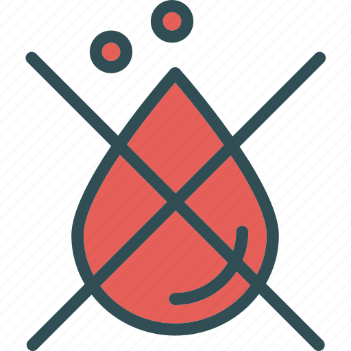 blood, cross, drop icon