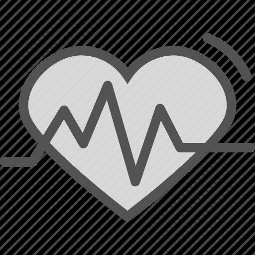 display, ekgmonitor, heart, heartbeat, lovesignal, organ, stats icon