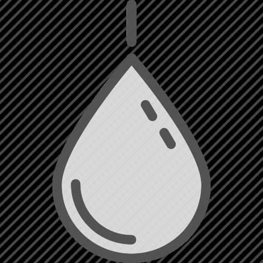blood, droplet, plain icon