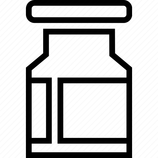 jar, meds, treatment icon