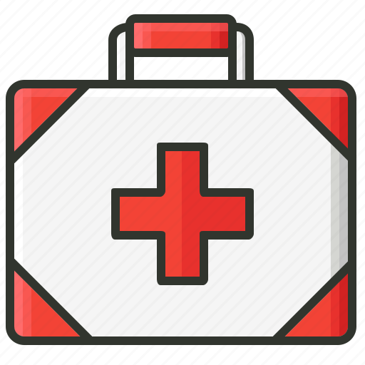 first aid kit, firstaid, firstaid box, medical, medical box, medicines icon