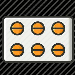 antibiotics, drugs, medical, medicine, pill, tablet icon