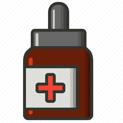 dropper, eyedrops, health, medical, medicine icon