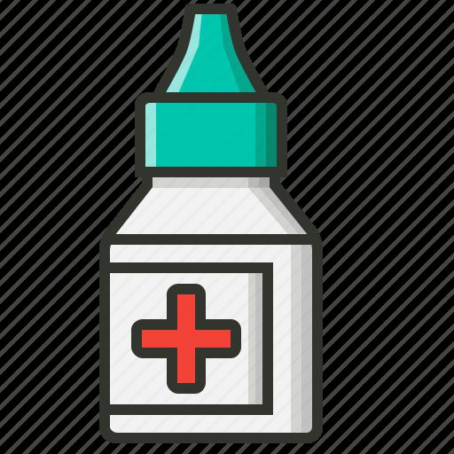 eye care, eye drops, medical, medicine, ophthalmology icon
