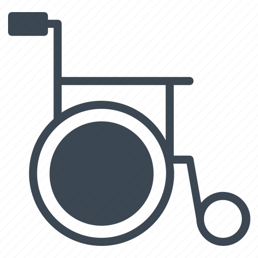 disability, impairment, medical, physical, wheelchair icon
