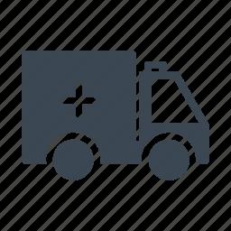 ambulance, car, emergency, transport, van icon