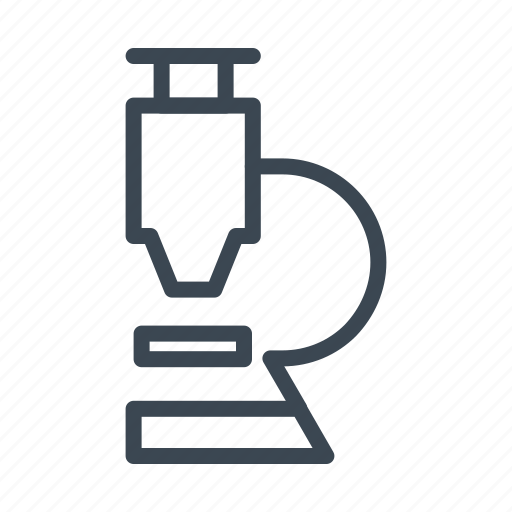 cure, experiment, laboratory, lens, medical, microscope, virus icon
