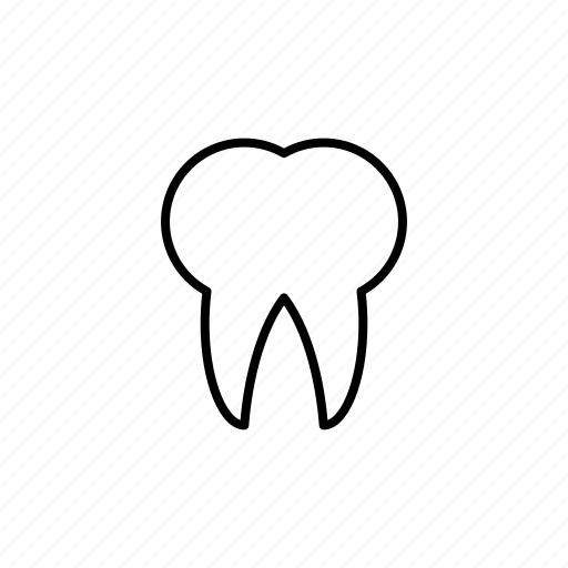 health care, healthy, line, medical, outline, tooth icon