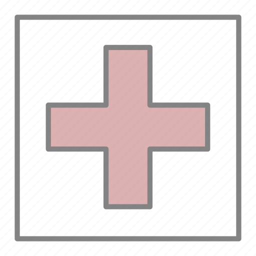 Doctor, emergency, health, hospital, medical, medicine, red cross icon - Download on Iconfinder