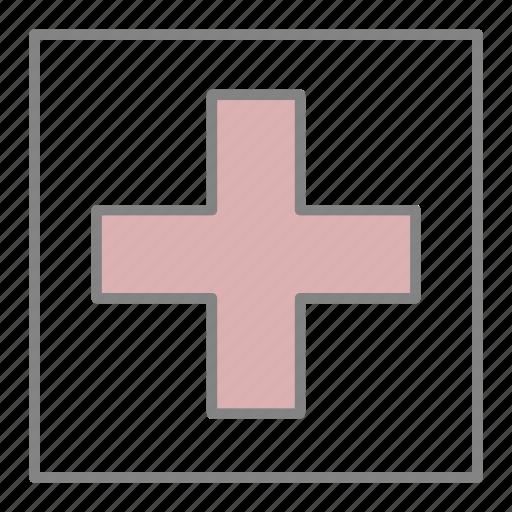 doctor, emergency, health, hospital, medical, medicine, red cross icon