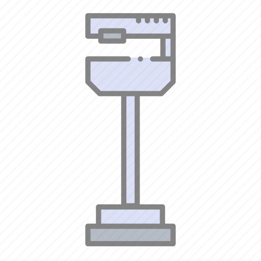 doctor, doctor's scale, health, hospital, medical, scale, weight icon