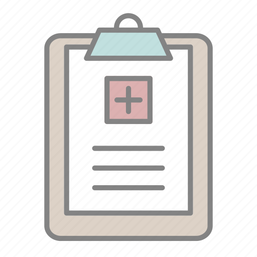 doctor, emergency, health, hospital, medical, medical forms, medical record icon