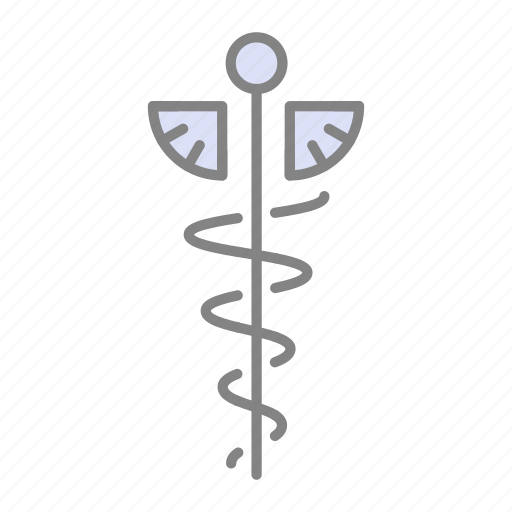 caduceus, doctor, emergency, health, hospital, medical, medicine icon