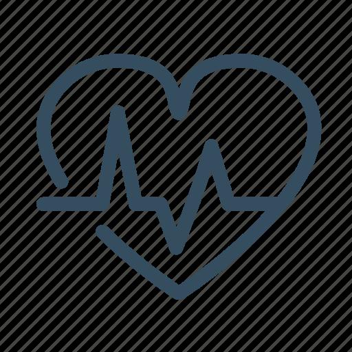 cardiogram, harte, health, medical icon