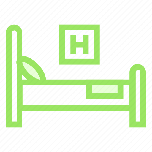 Bed, clinic, hospital, medical icon - Download on Iconfinder