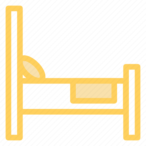 bed, furniture, interior, rest icon