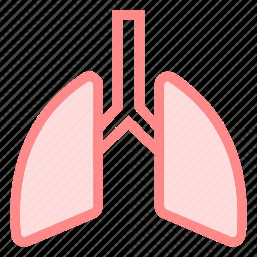 body, lung, organ, respiratory icon