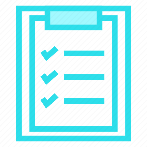 Checklist, clipboard, document, survey icon - Download on Iconfinder