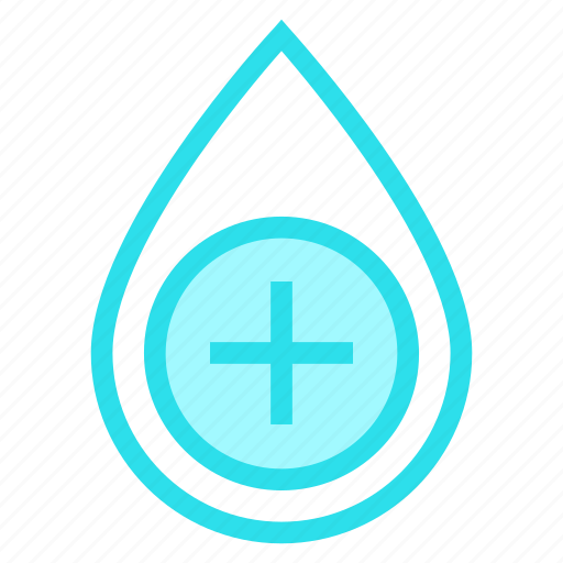 Aqua, blood, drop, water icon - Download on Iconfinder