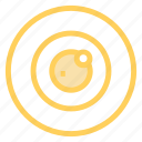 ball, eye, lens, optic icon