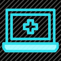 device, gadget, laptop, medical icon