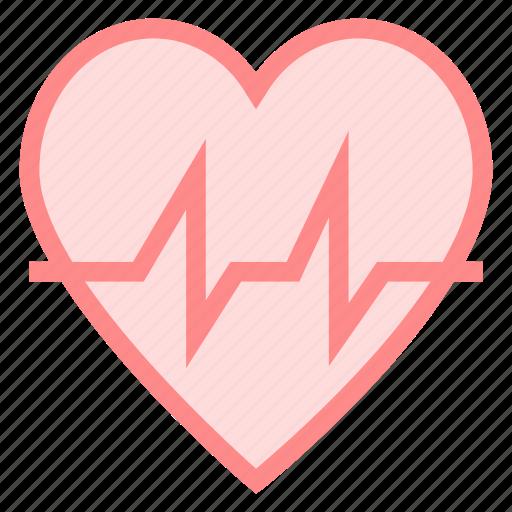beat, healthcare, heart, life icon