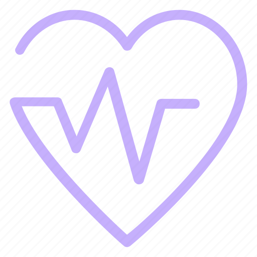 health, heart, life, pulses icon
