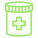 drugs, jar, medical, medicine icon