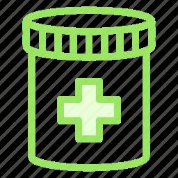 drugs, jar, medical, medicine icon