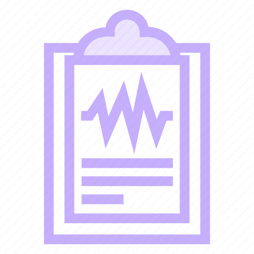 clipboard, document, medical, report icon