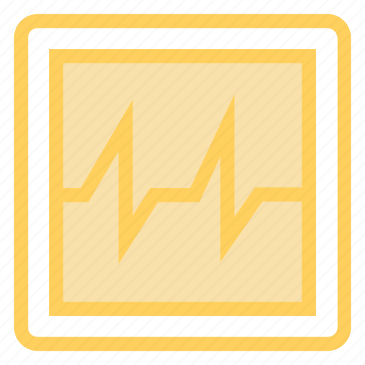 medical, monitor, pulses, screen icon