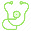 checkup, doctor, medical, stethoscope icon