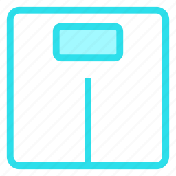fitness, measuring, scale, weightmeter icon