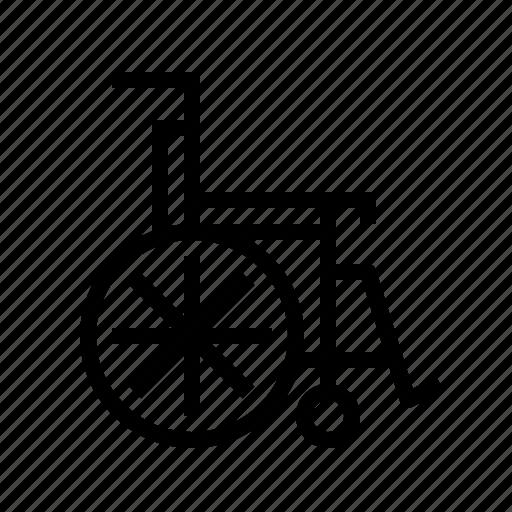 disabled, handicap, handicapped, wheel, wheelchair icon