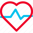 heart, heartbeat, monitor icon icon