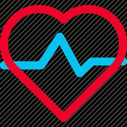 heart, heartbeat, monitor icon icon