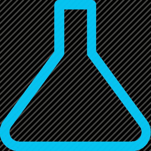 flask, hospital icon, test icon