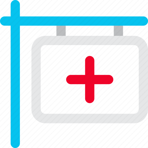 clinic, clinic board, doctor board, hanging board, medical board, medical sign icon icon