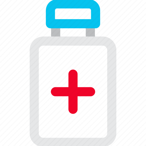 bottle, medicine, pills, prescription icon icon