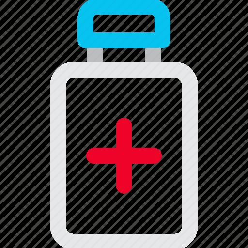 Bottle, medicine, pills, prescription icon icon - Download on Iconfinder